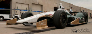 Free Facebook cover image from Eric Scott Miller Photography, featuring Ed Carpenter's 2012 Indy 500 race car.